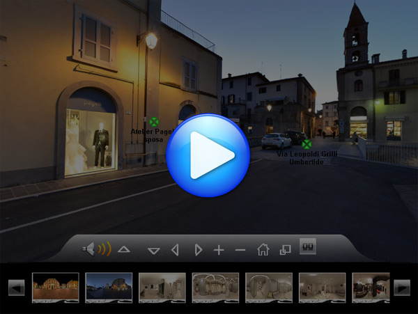 Virtual Tour di Pagelli Sposi