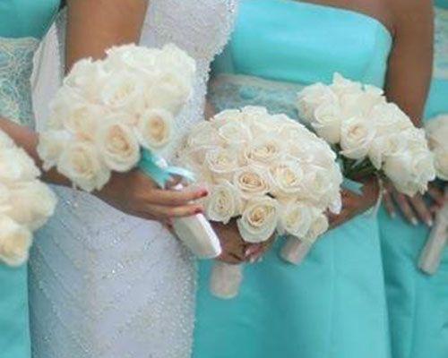 Addobbi Floreali Matrimonio Azzurro : Un matrimonio tutto in verde tiffany! pagelli sposi